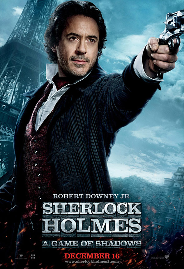 Sherlock Holmes: A Game of Shadows Poster #10
