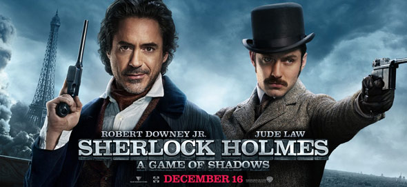 Sherlock Holmes: A Game of Shadows Poster #16