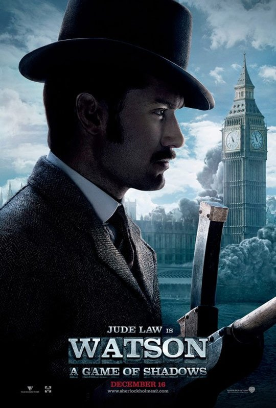 Sherlock Holmes: A Game of Shadows Poster #3