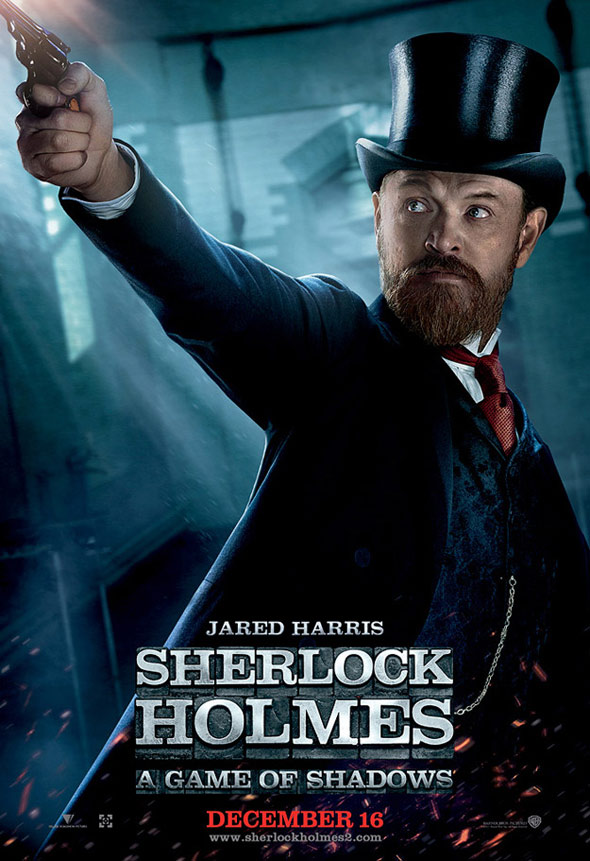 Sherlock Holmes: A Game of Shadows Poster #7