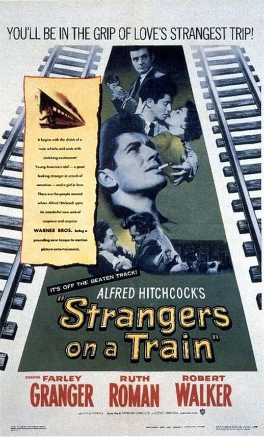 Strangers on a Train Poster #1