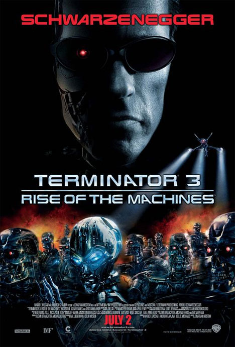 Terminator 3: Rise of the Machines Poster #1
