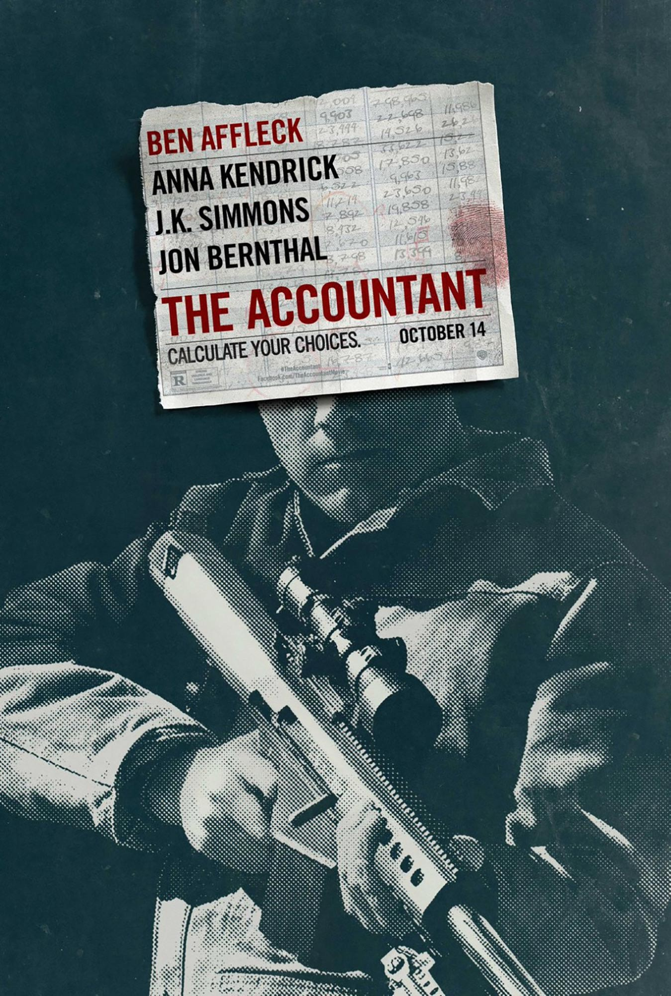 The Accountant (2016) Poster #3 - Trailer Addict Javier Bardem Films