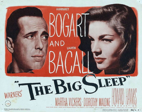 The Big Sleep Poster #2