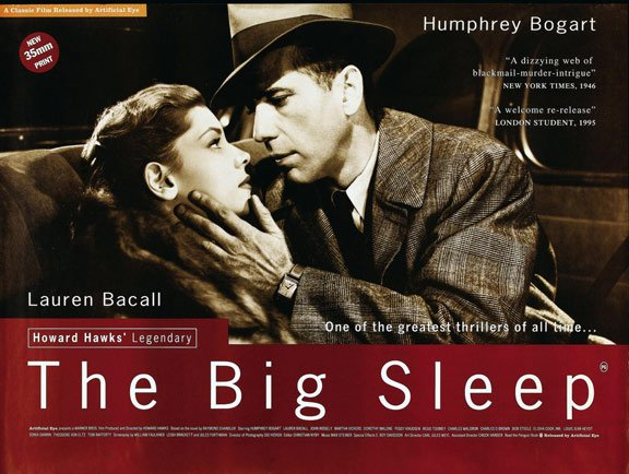 The Big Sleep Poster #3