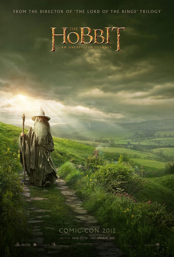 The Hobbit: An Unexpected Journey Poster #2