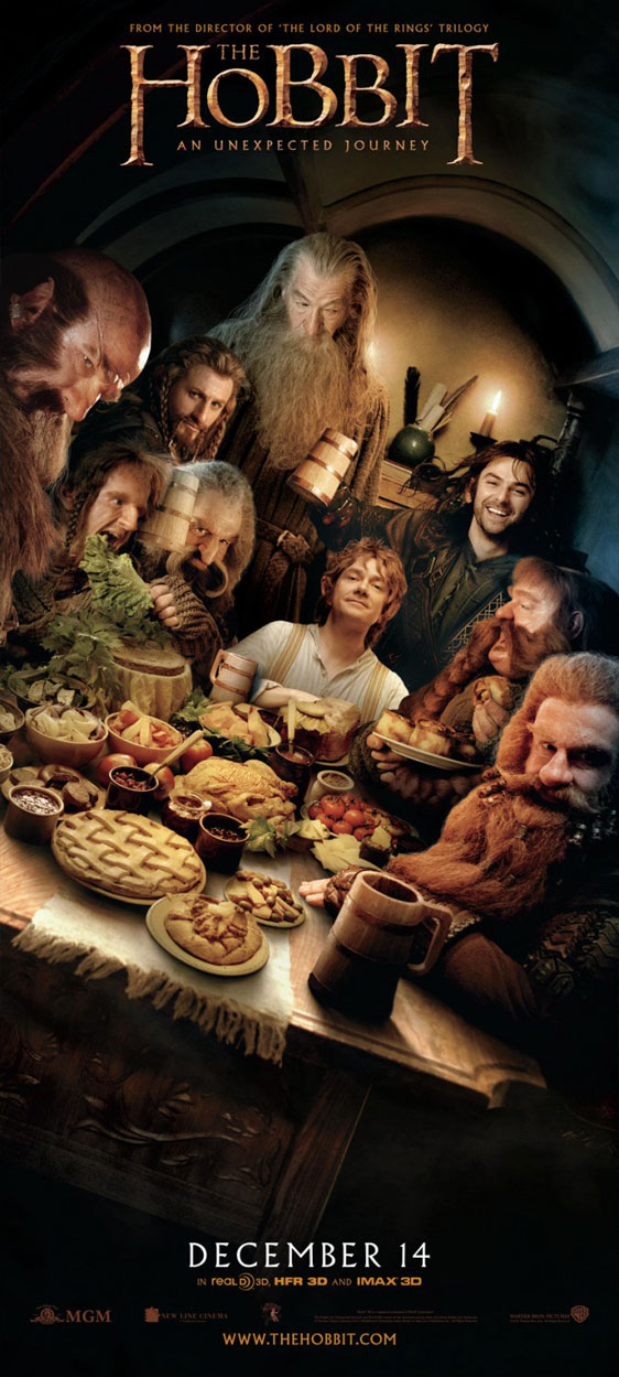 The Hobbit: An Unexpected Journey Poster #27