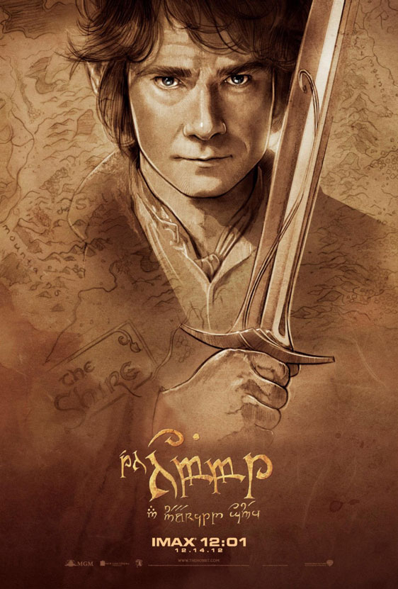 The Hobbit: An Unexpected Journey Poster #36