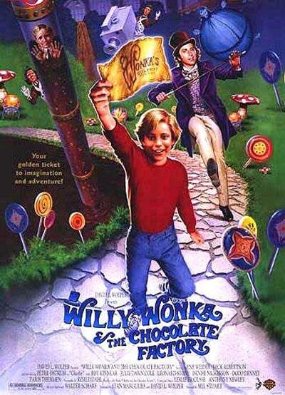 Willy Wonka and the Chocolate Factory Poster #3