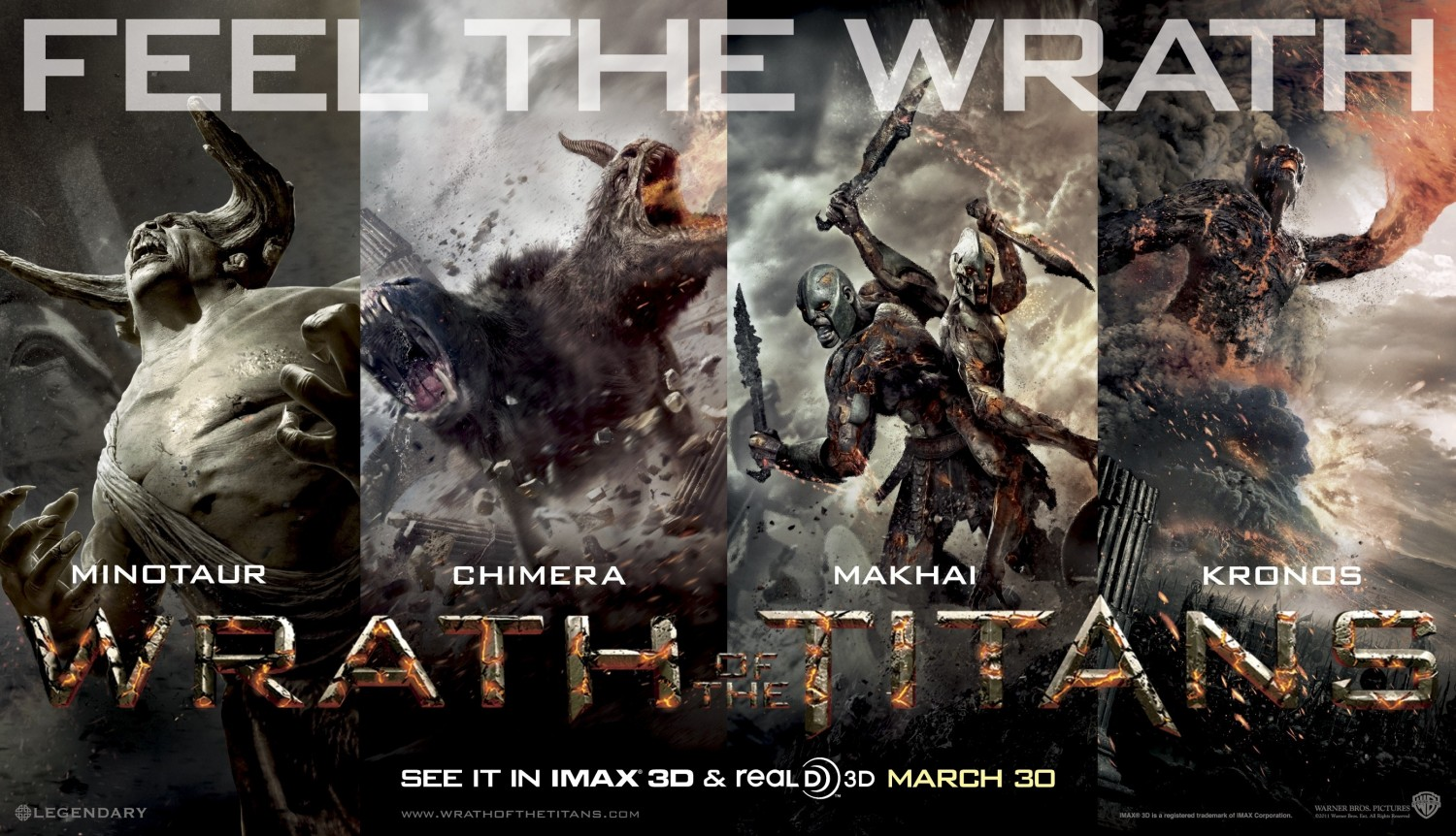 Wrath of the Titans Poster #2