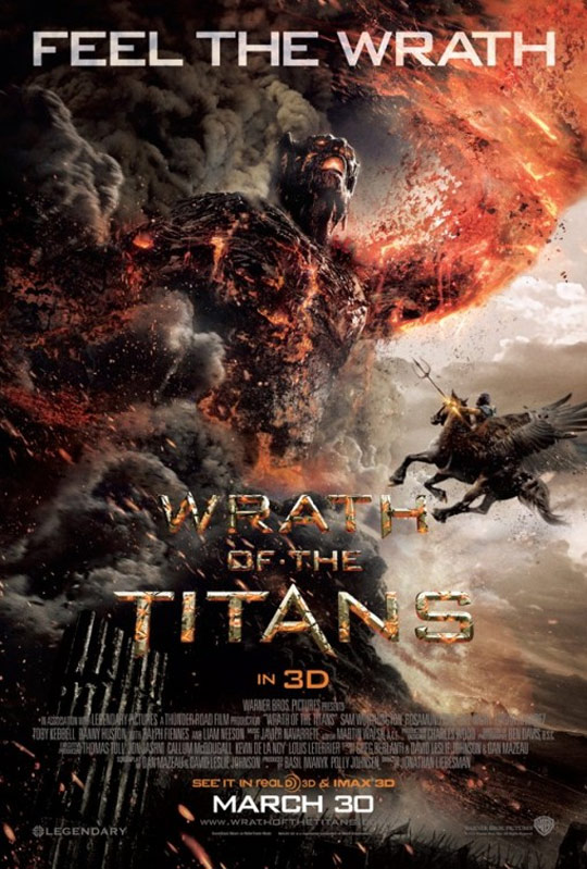 Wrath of the Titans Poster #5