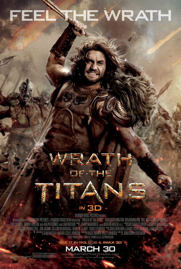 Wrath of the Titans Poster #8