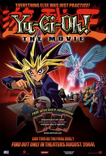Yu-Gi-Oh! The Movie: Pyramid of Light Poster #1