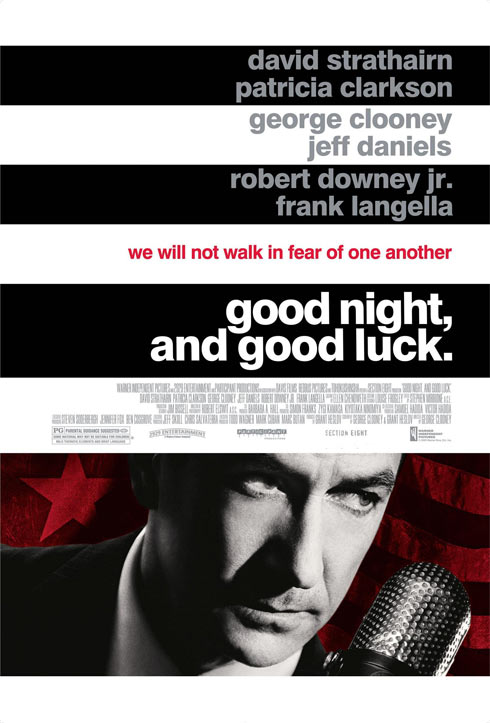 Good Night, and Good Luck. Poster #1