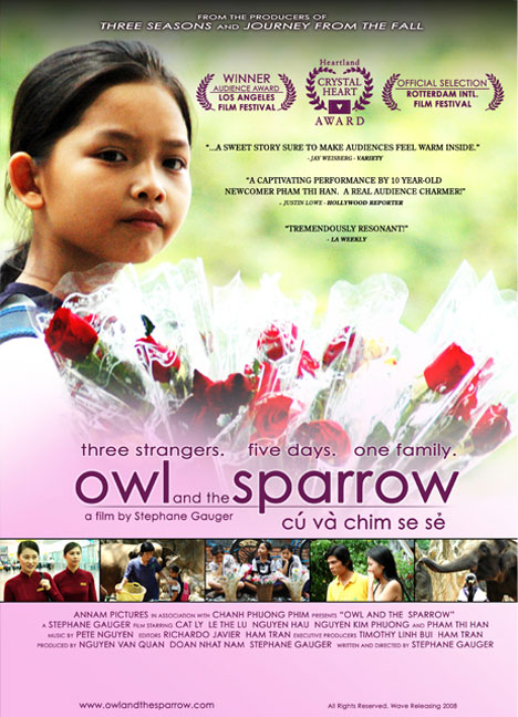 Owl and the Sparrow Poster #2
