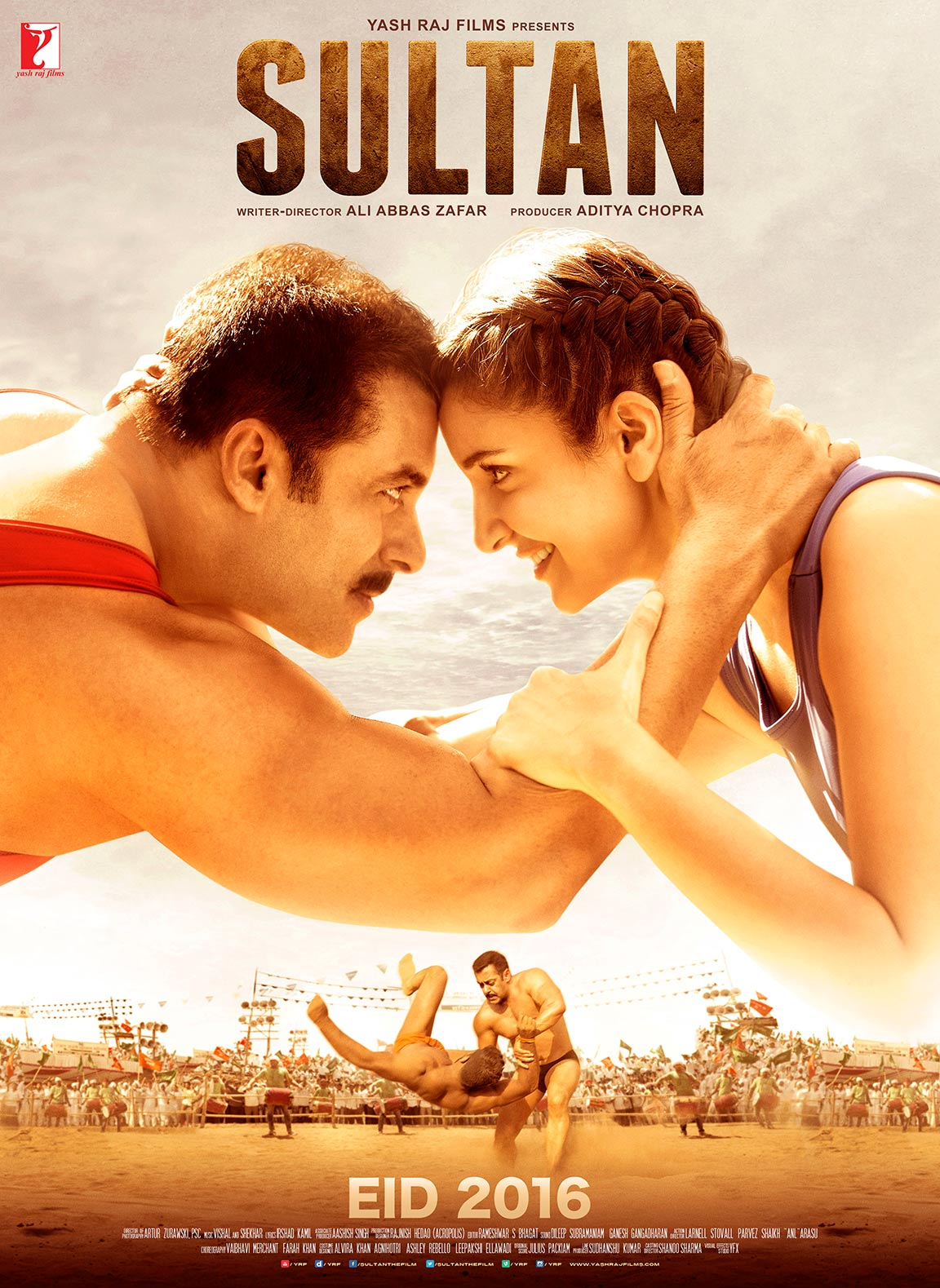 SULTAN (2016) ~ 2CD x264 DesiSCR AAC – DDR 1.4Gb