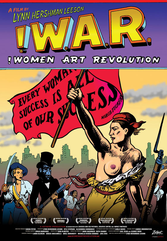 !Women Art Revolution Poster