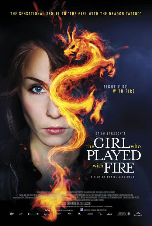 The Girl Who Played With Fire Poster #3