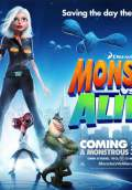 Monsters vs. Aliens (2009) Poster #12 Thumbnail