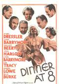 Dinner at Eight (1933) Poster #1 Thumbnail