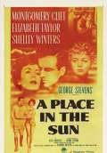 A Place in the Sun (1951) Poster #1 Thumbnail