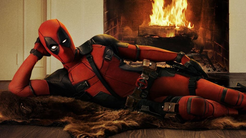 Deadpool Fireplace