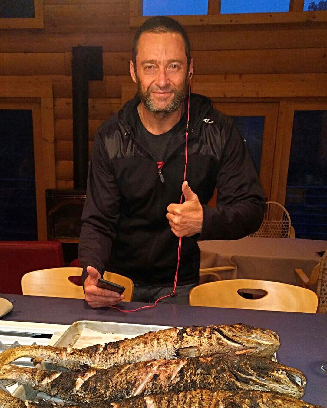 Hugh Jackman Old Man Instagram Post
