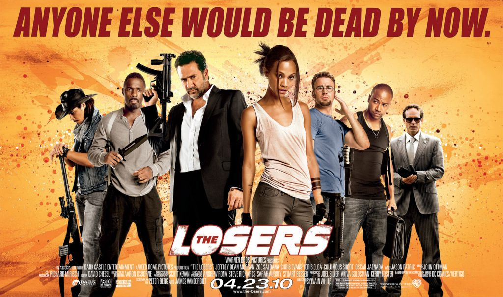 The Losers Quad Poster