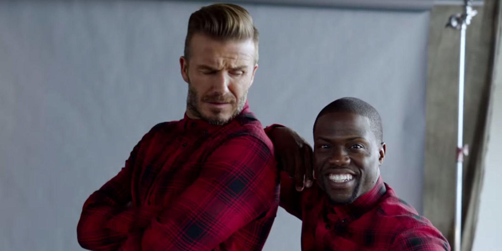 Kevin Hart Commercial >> Kevin Hart Joins David Beckham For H&M Commercial
