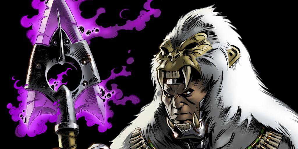 M'Baku Man-Ape Marvel Black Panther