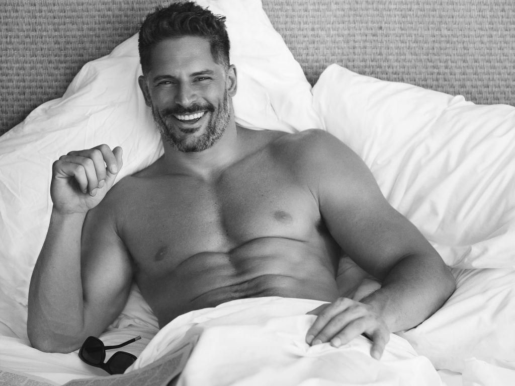 Joe Mangeniello in Bed