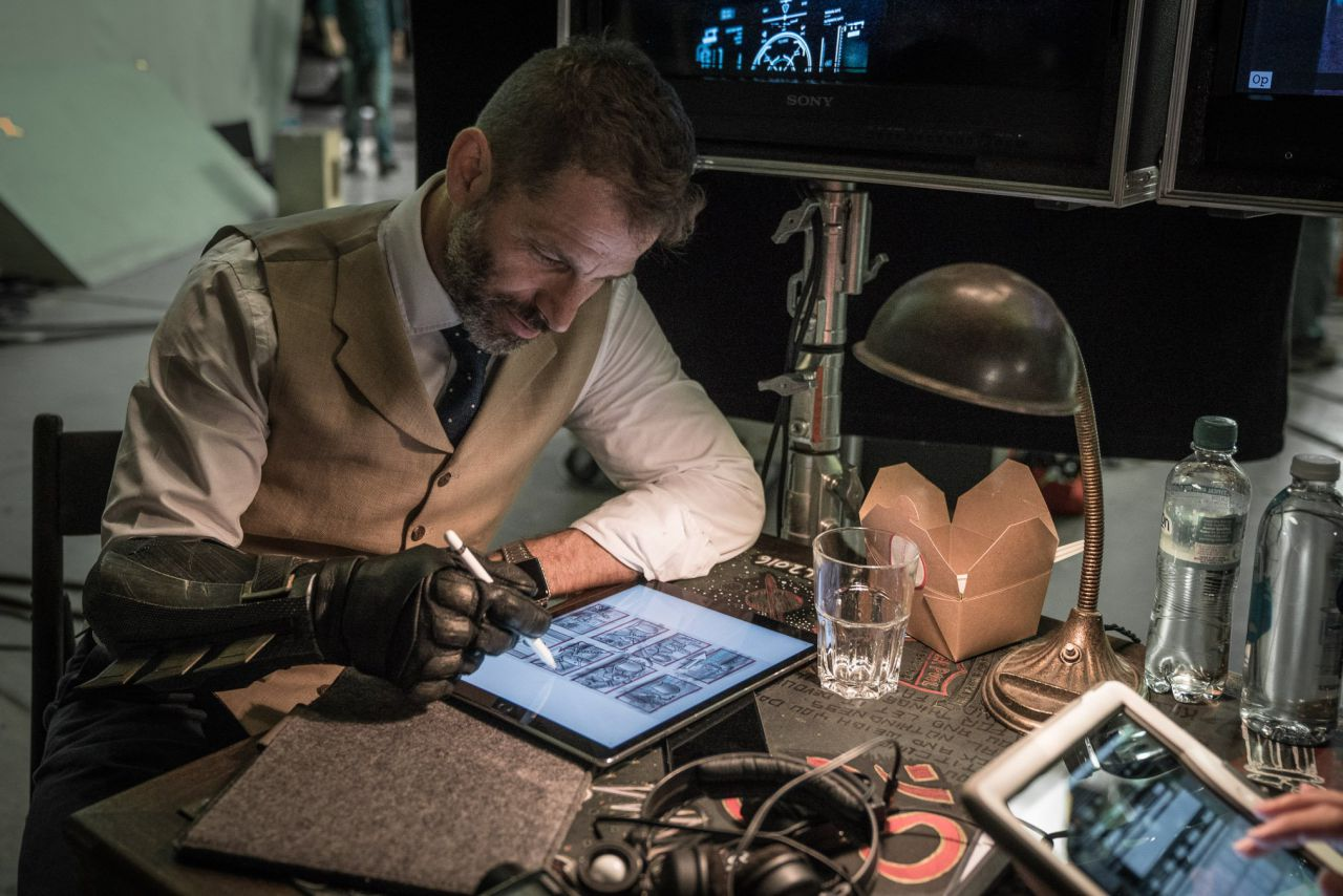 Zack Snyder Twitter Justice League