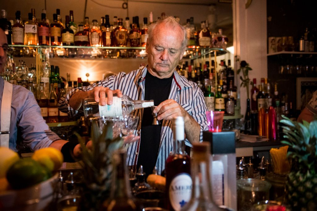 Bill Murray Bar New York