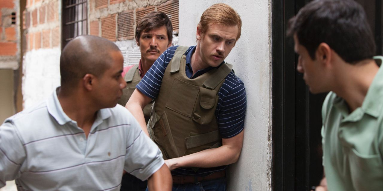 Boyd Holbrook in Narcos