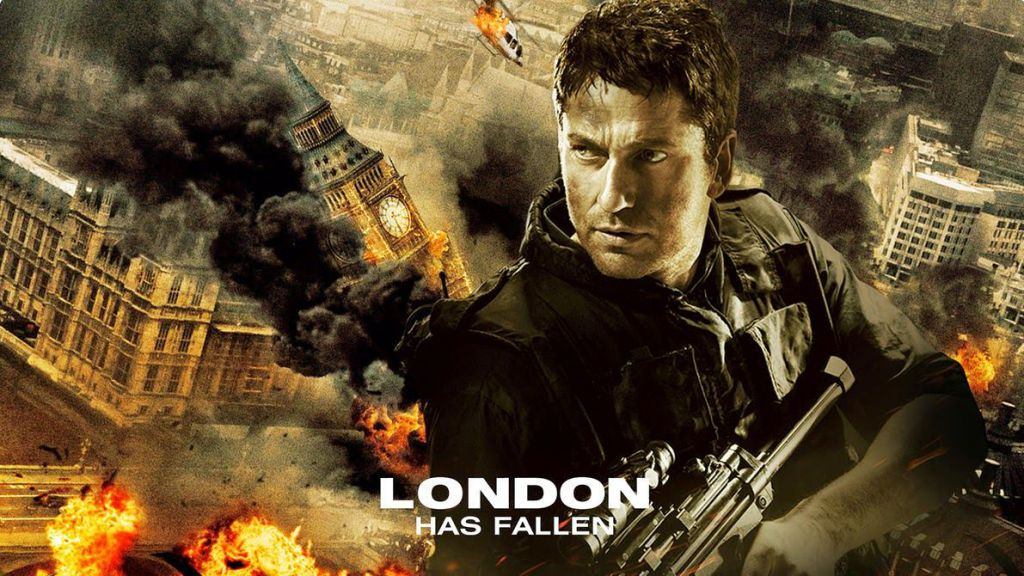 Gerard Butler London Has Fallen