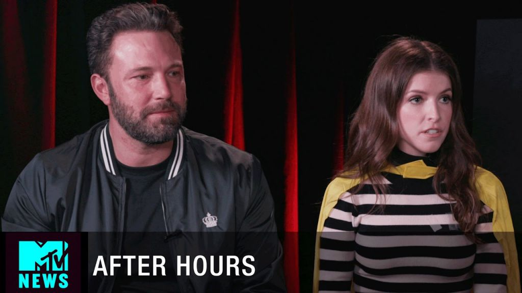 Anna Kendrick and Ben Affleck Batman Interview