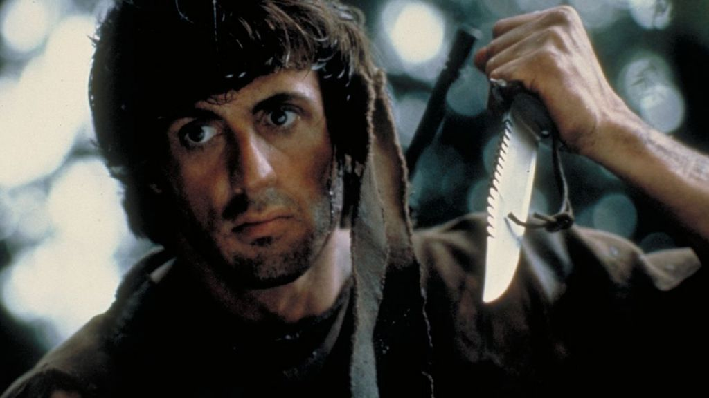Sylvester Stallone in Rambo First Blood