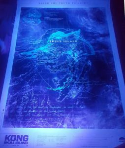 Blue Skull Island Poster