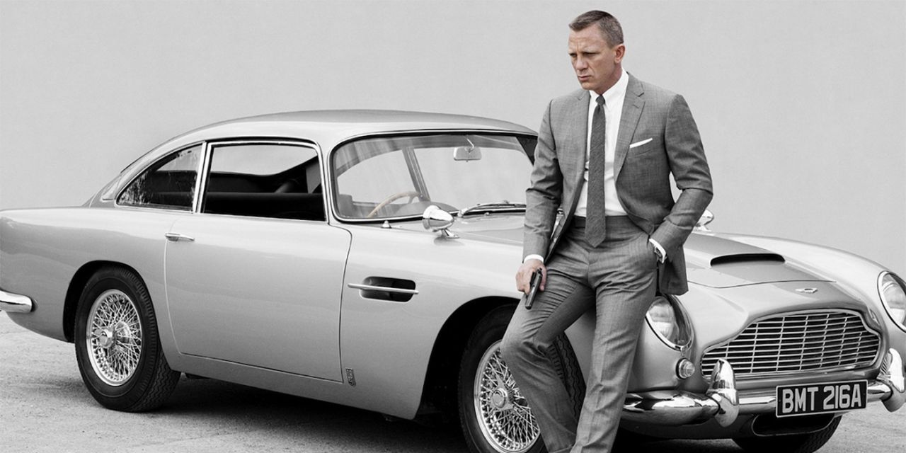 Bond Sitting on a Car