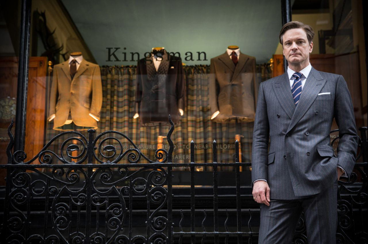 Colin Firth in Kingsman