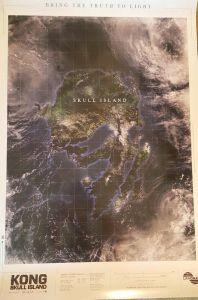 Viral Skull Island Poster
