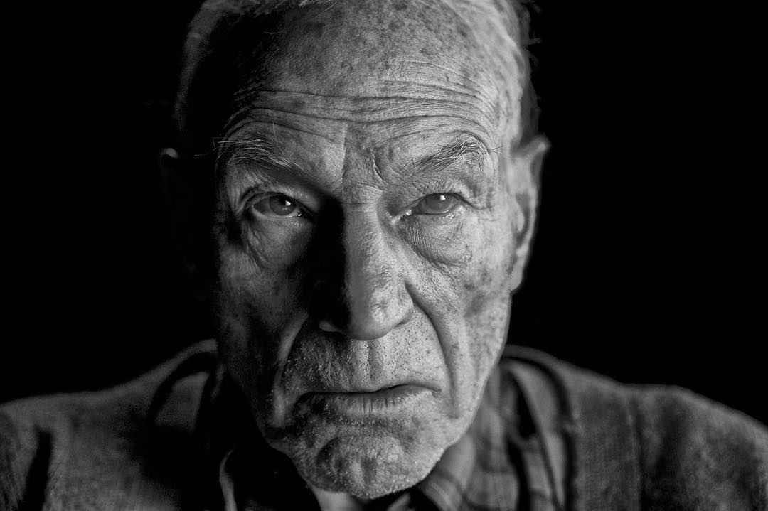 Professor X in Logan
