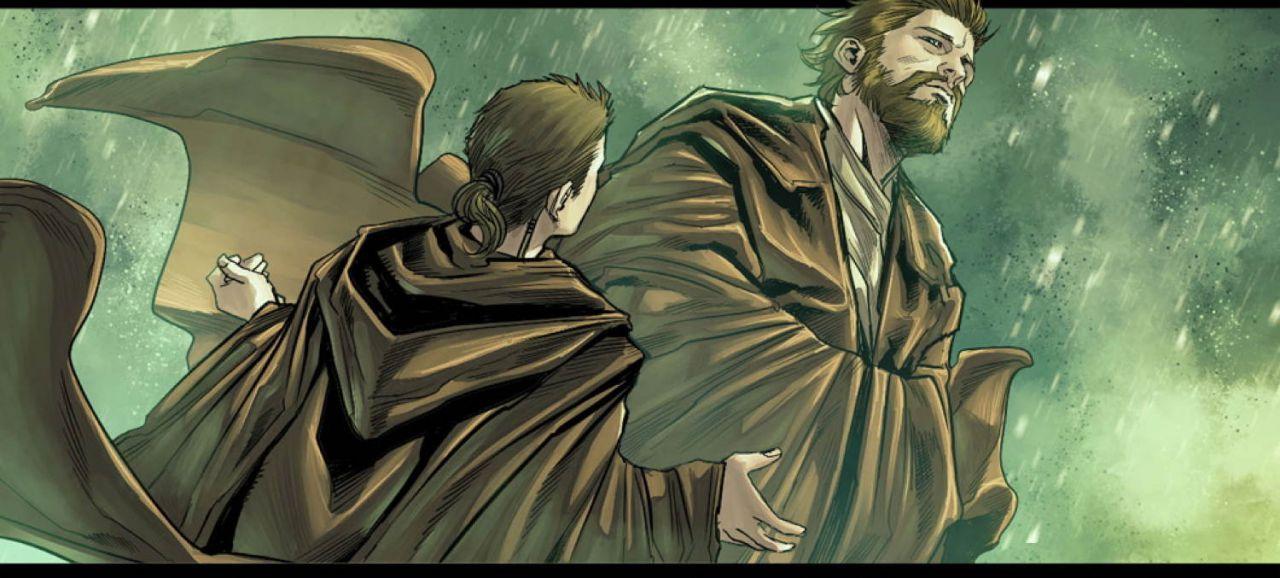 Obi-Wan Comic Book