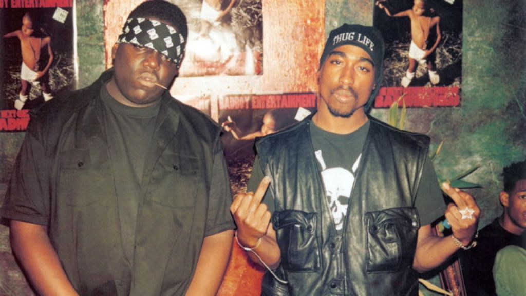Labyrinth Biggie and Tupac