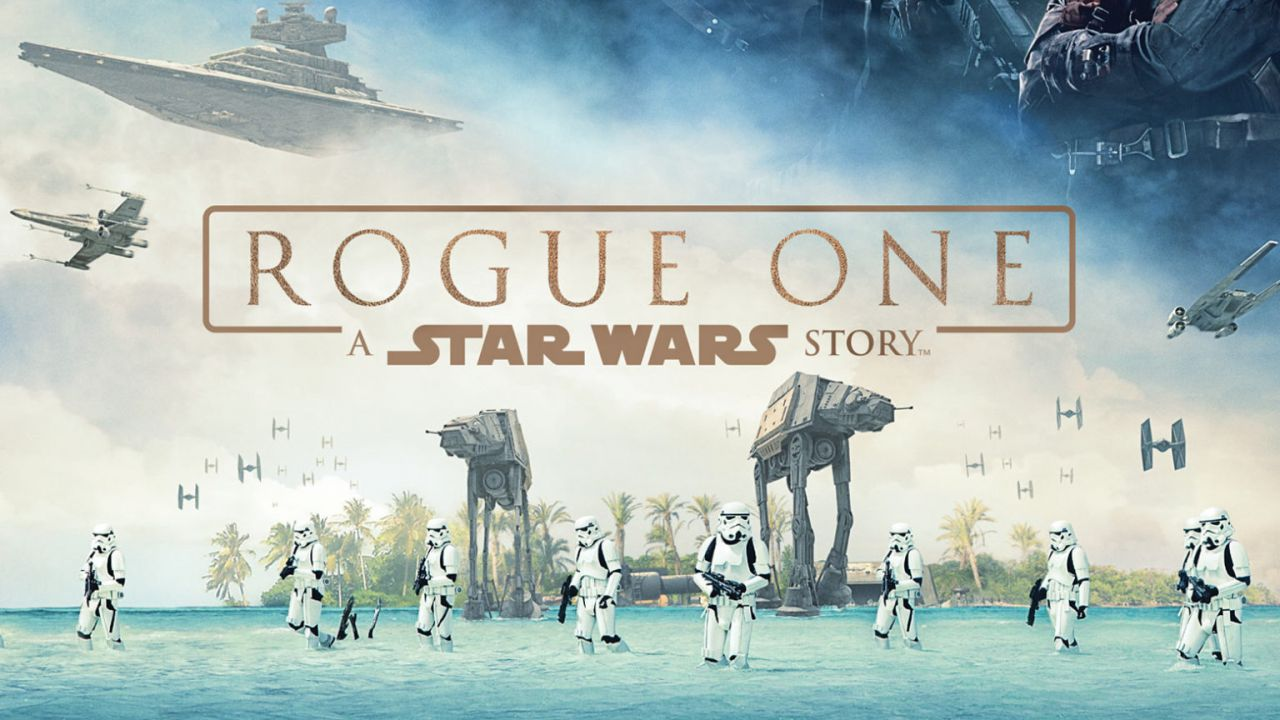 Rogue One Quad Poster