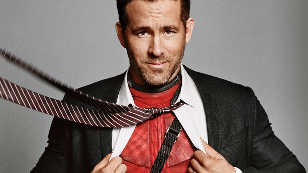 Ryan Reynolds Superhero Spread