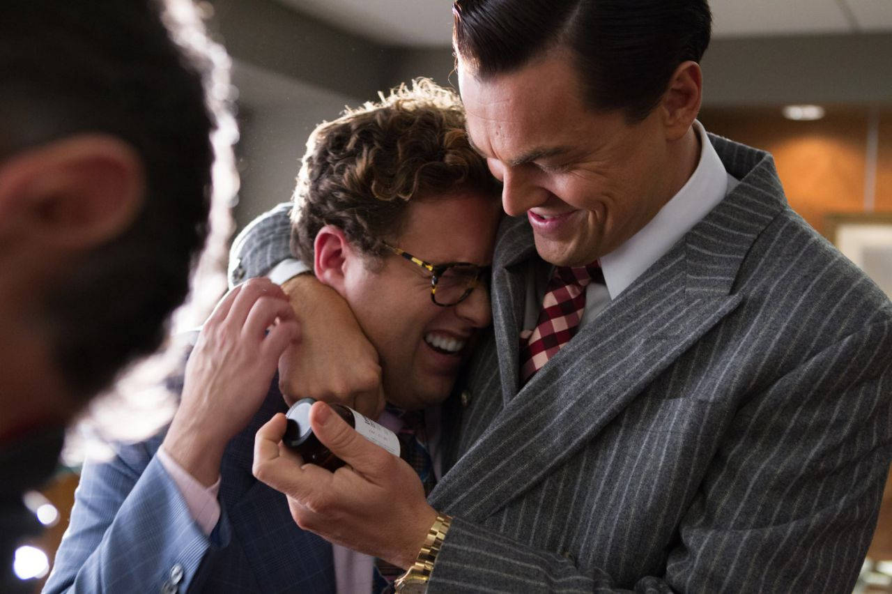 Wolf of Wall Street Hill and DiCaprio
