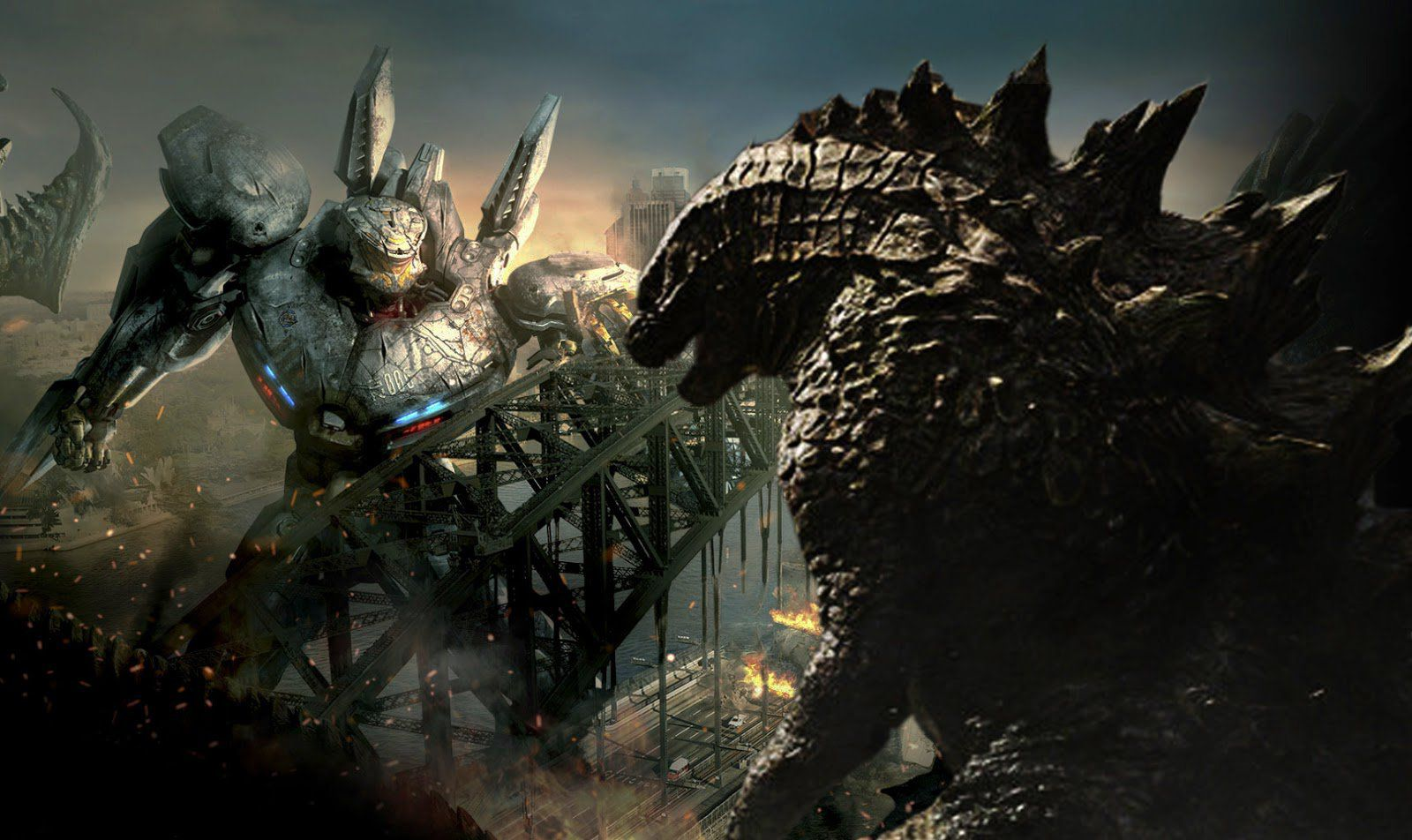 Pacific Rim vs Godzilla