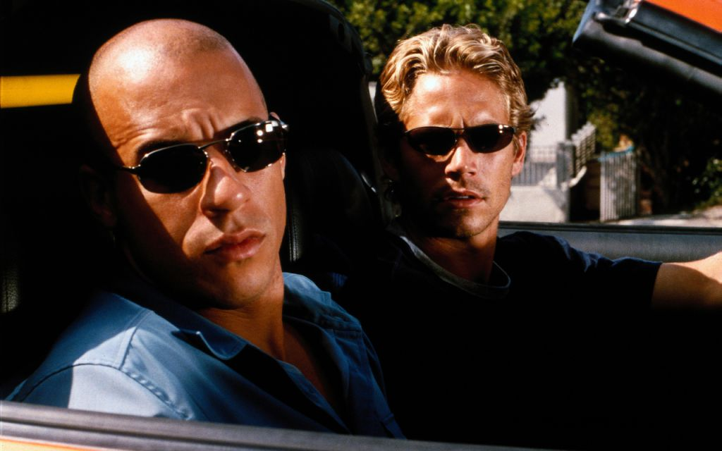 Paul Walker in Vin Diesel in Fast & Furious