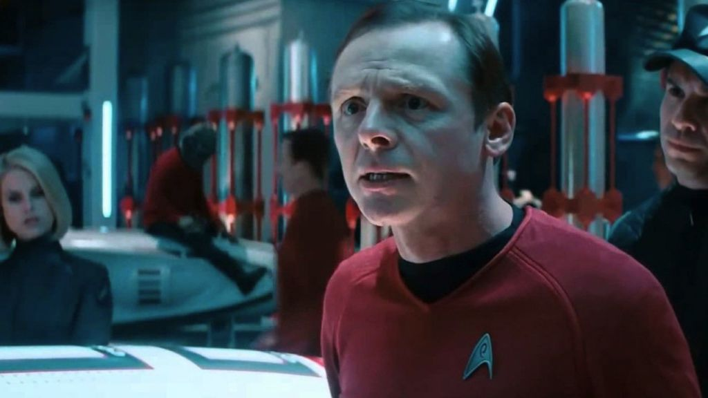 Simon Pegg in Star Trek Beyond